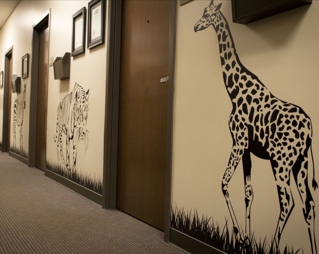 Pediatric Ophthalmology Hallway Spokane Eye Clinic v2